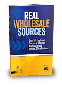 Find real wholesale sources for products to sell online – Amazon, eBay, your ecommerce site… or offline!